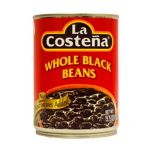 Mexican Black Beans (Frijoles Negros) in Spiced Sauce - 540g